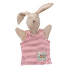 Marionnette Sylvain le lapin - La Grande Famille -  Moulin Roty