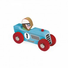 Story Racing Retromotor Bleu ou Argenté - Janod