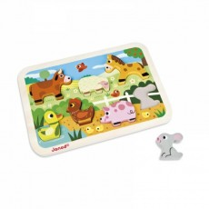 Chunky Puzzle Ferme - Janod