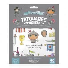 60 tatouages éphémères Chevalier - Quand je serai grand(e) par Isabelle Kessedjan