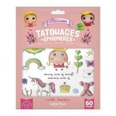 60 tatouages éphémères Princesse - Quand je serai grand(e) par Isabelle Kessedjan