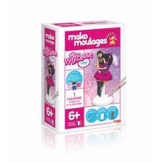 Moulage en plâtre Princesse Pop - Mako Créations