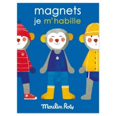Personnages magnétiques Les Popipop - Moulin Roty