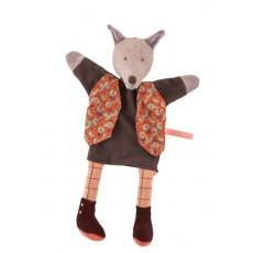 Marionnette loup Le gentleman Il était une fois - Moulin Roty