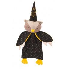 Marionnette hibou Le magicien Il était une fois - Moulin Roty