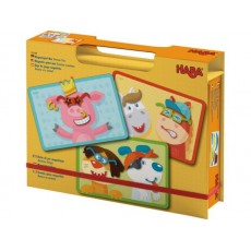 Boîte de jeu magnétique Animaux dingos - Haba