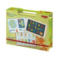 Boîte de jeu magnétique Mes premiers chiffres - Haba
