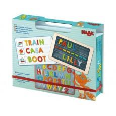 Boîte de jeu magnétique Alphabet - Haba