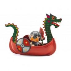 Arty Toys - Pirates - Drack & Ze drakkar - Djeco