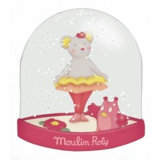 Boule à neige Mademoiselle et Ribambelle - Moulin Roty