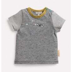 TISON Tee-shirt rayé étoiles Les Petits Habits Il était une fois printemps - été - Moulin Roty