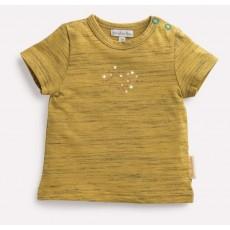 TOINE Tee-shirt ambre flamme Les Petits Habits Il était une fois printemps - été - Moulin Roty