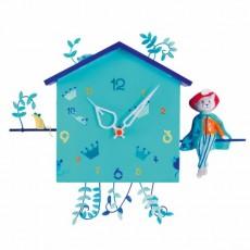 Horloge Alabonneheure - Le Chat Botté - L'Oiseau Bateau