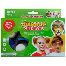 Kit de maquillage Jungle Carnaval - APLI Kids