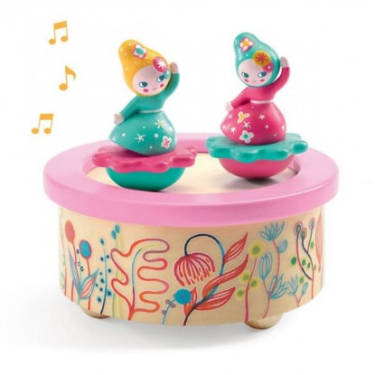 Boîte à musique magnétique - Flower Melody - Djeco Little Big Room