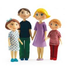 Figurines - La famille de Gaspard & Romy - Djeco