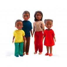 Figurines - La famille de  Milo & Lila - Djeco