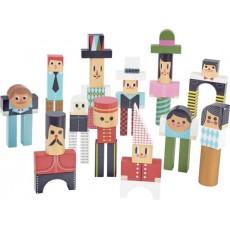 Les bonhommes en cubes - Vilac
