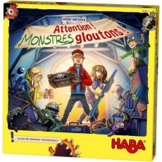 Attention ! Monstres gloutons ! - Haba