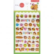 Stickers petits gâteaux - Majolo
