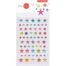 Stikers étoiles - Majolo