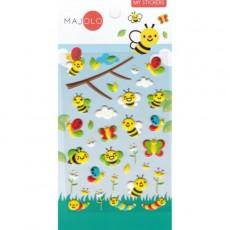 Stickers abeilles - Majolo
