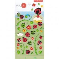 Stickers coccinelles - Majolo