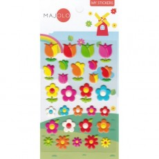 Stickers tulipes - Majolo