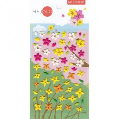 Stickers fleurs - Majolo