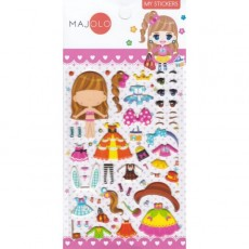 Stickers Minimi rose - Majolo