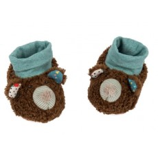 Chaussons ours Les Jolis trop beaux - Moulin Roty