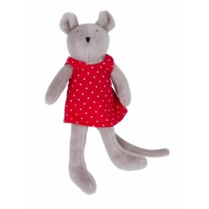 Peluche Miniature Nini la souris - La Grande Famille - Moulin Roty
