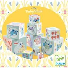 Cubes à empiler BabyBloki - Djeco