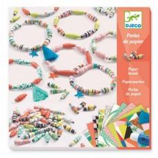 Perles de papier - Bracelets de printemps - Djeco