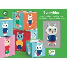 Cubes premier âge - Bunnybloc - Djeco