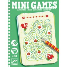 Mini Games - Les labyrinthes d'Ariane - Djeco