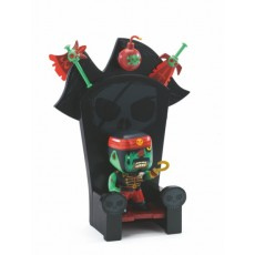 Arty Toys - Pirate - Kyle & Ze Throne - Djeco