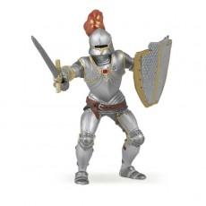 Chevalier en Armure au plumet rouge - Papo
