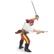 Pirate avec pistolet - Papo