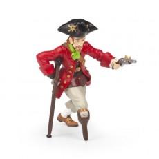 Pirate jambe de bois au pistolet - Papo