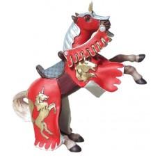 Figurine Cheval Cabré Rouge à la Licorne - Papo
