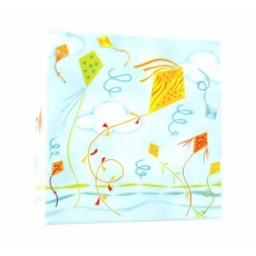 Applique Boite à lumière - Garçon cerf-volant - L'Oiseau Bateau