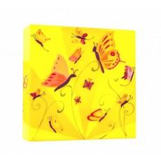 Applique Boite à lumière - Fille papillons - L'Oiseau Bateau