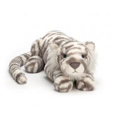 """Peluche Tigre """"Sacha Snow Tiger"""" - Jellycat"""