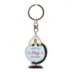 Porte-clés Meilleur Meilleur Papy du monde - Créa bisontine