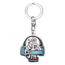 Porte-clés Meilleur Super Frerot - Créa bisontine