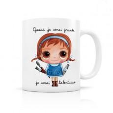 Mug céramique Talentueuse - Quand je serai grand(e) par Isabelle Kessedjian