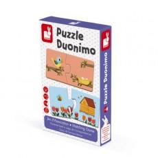 Jeu d'association - Puzzle Duonimo - Janod