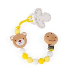 Attache Sucette Ours Baby Pop - Janod