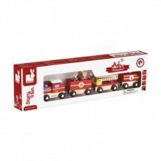 Train de Pompiers Story - Janod